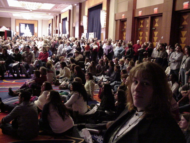 A C E At Bridal Show The Mohegan Sun In 2004 With Guinness Book Of World Records Largest Wedding Cake